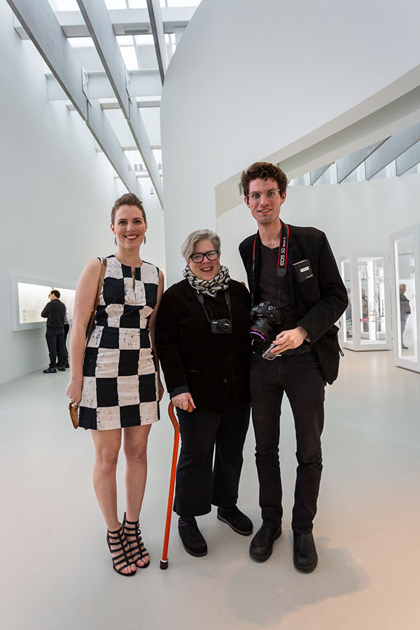 Corning Museum of Glass Contemporary Glass Opening with Kitty and Alex Cassetti. We think we all look pretty awesome. Grateful to Gary Hodges for such a great photo.