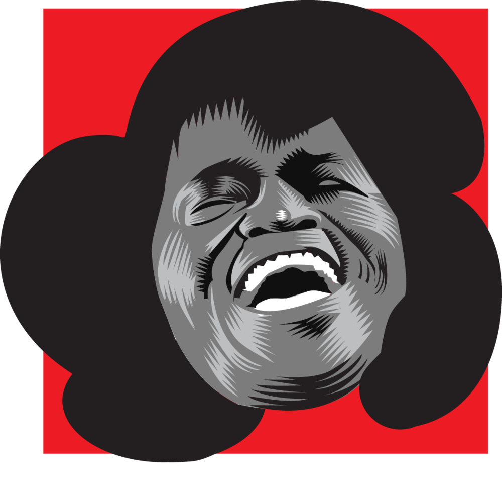 James Brown 1 hour portraits 2015 Q.Cassetti Adobe Illustrator 2015