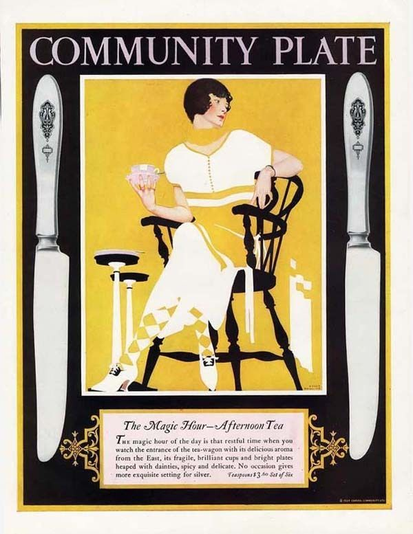 Coles Phillips for Community Plate
