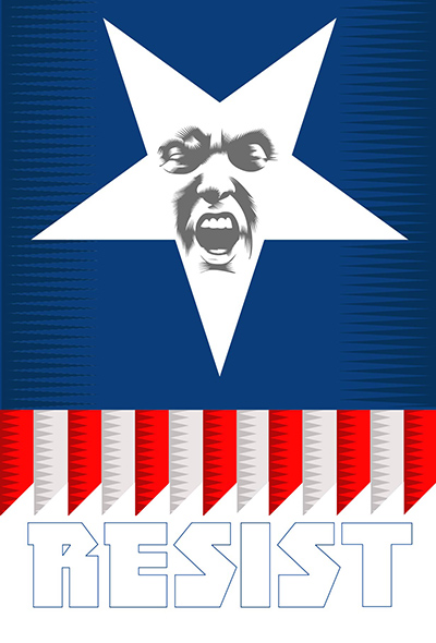 America's Star Week Twenty Four of the Resistance Q.Cassetti 7. 06.2017 Adobe Illustrator CC