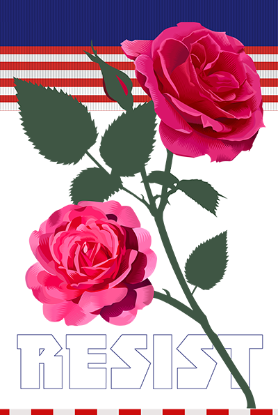 For our fellow citizens: Puerto Rico and Las Vegas Week Thirty Seven of the Resistance Q.Cassetti 10.05.2017 Adobe Illustrator
