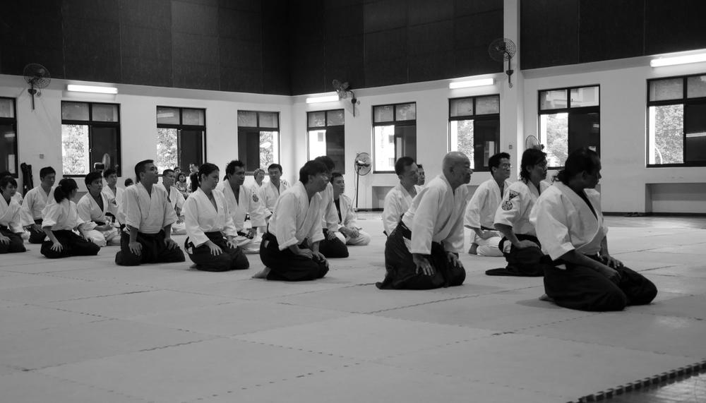 Aikido Kenshin-Kai - Inaugural Seminar with Yamada Shihan