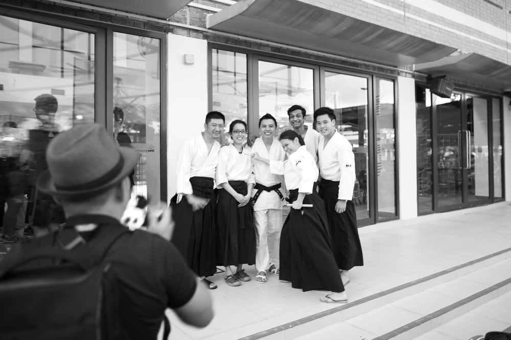 Aikido Kenshin-Kai - Demo Bishan Open House - Pictures