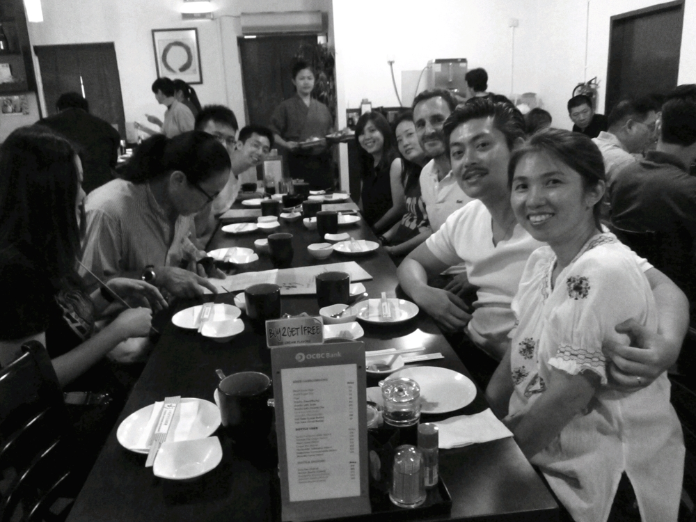 Aikido Kenshin-Kai Singapore - First Birthday Dinner