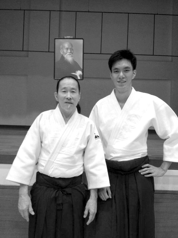Aikido Kenshin-Kai's Kelly Tan Sensei & Aikido Tai Shin Kai's Shamus Chan