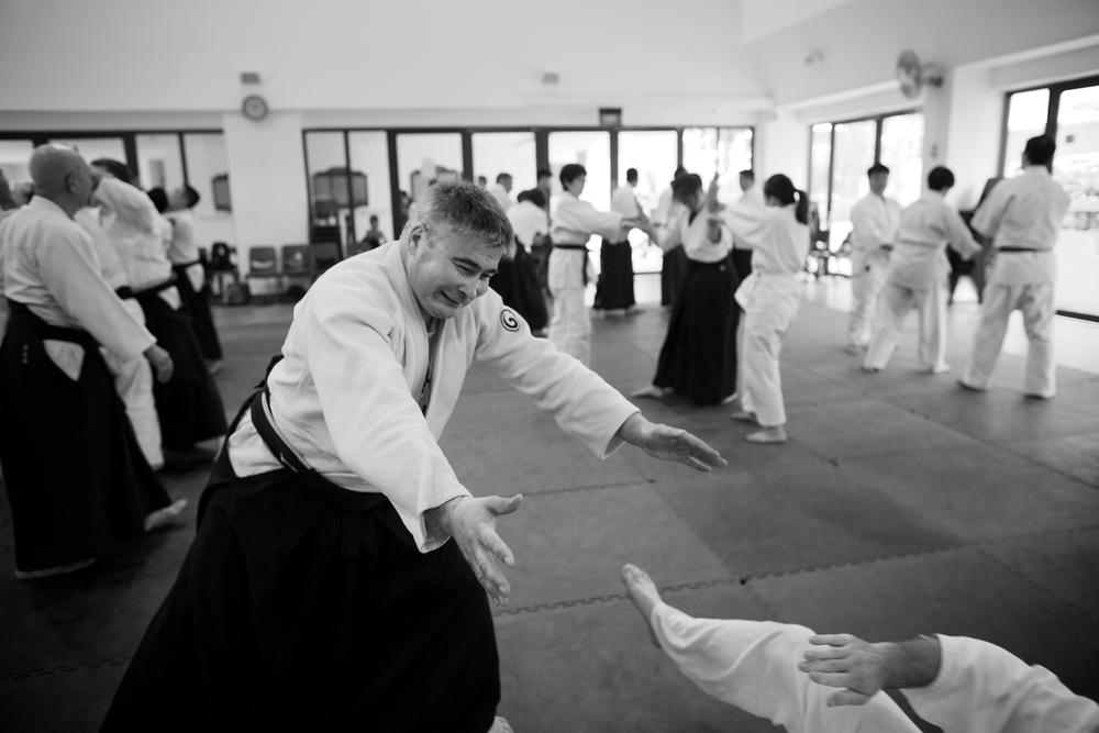 Aikido Kenshin-Kai Singapore - Yamada Shihan Seminar 2014