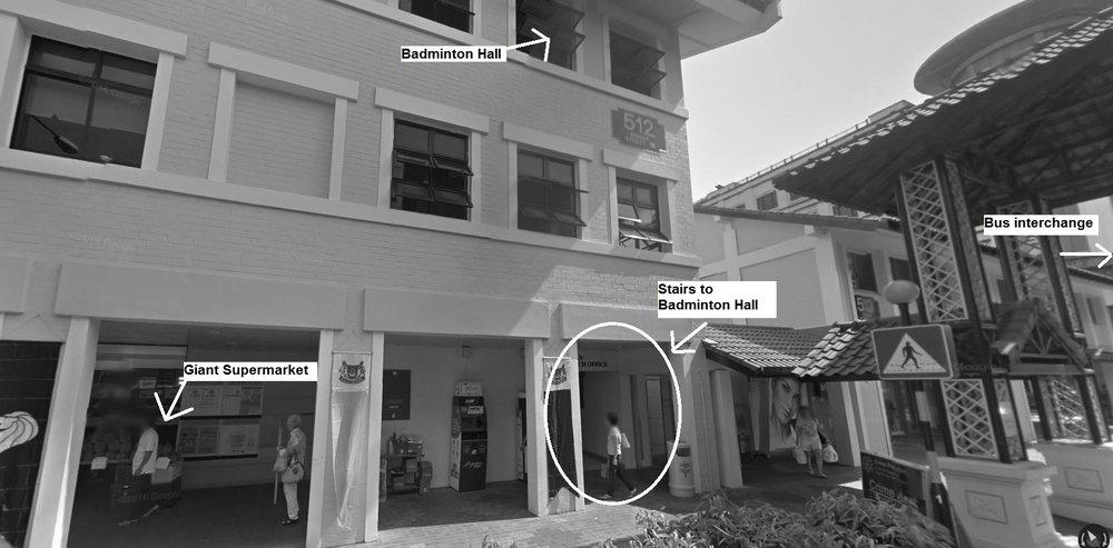 Aikido Kenshin-Kai Grading Venue - Bishan Badminton Hall