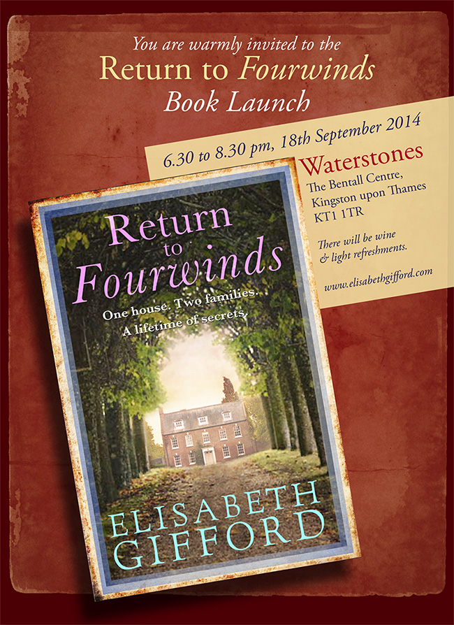 Fourwinds book launch