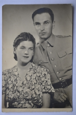 Misha and Sophia in 1945