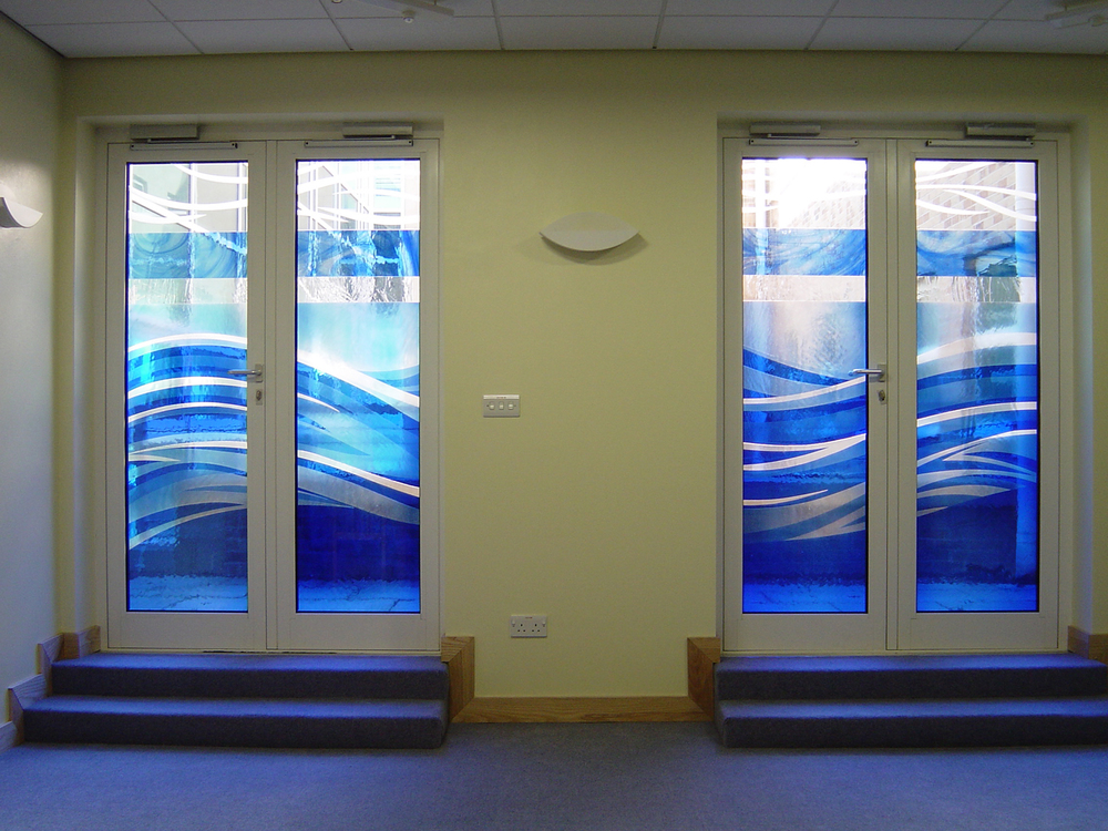 Doors for The Sanctuary at Royal Berkshire Hopsital, Reading.