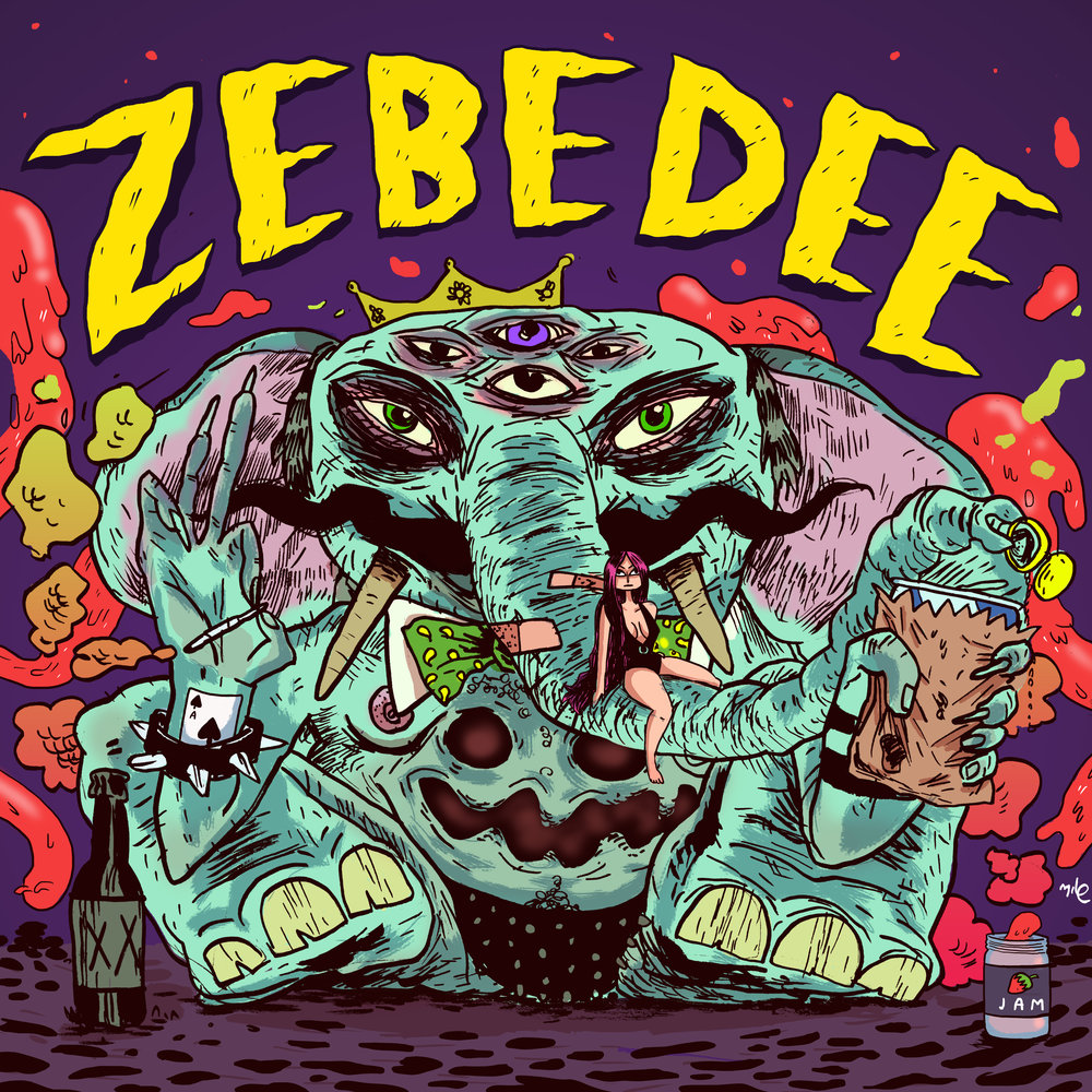 "Promotional image for ""Zebedee"" Band"