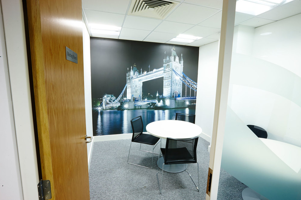 Bespoke Photographic Wall Mural Project: Pulse London