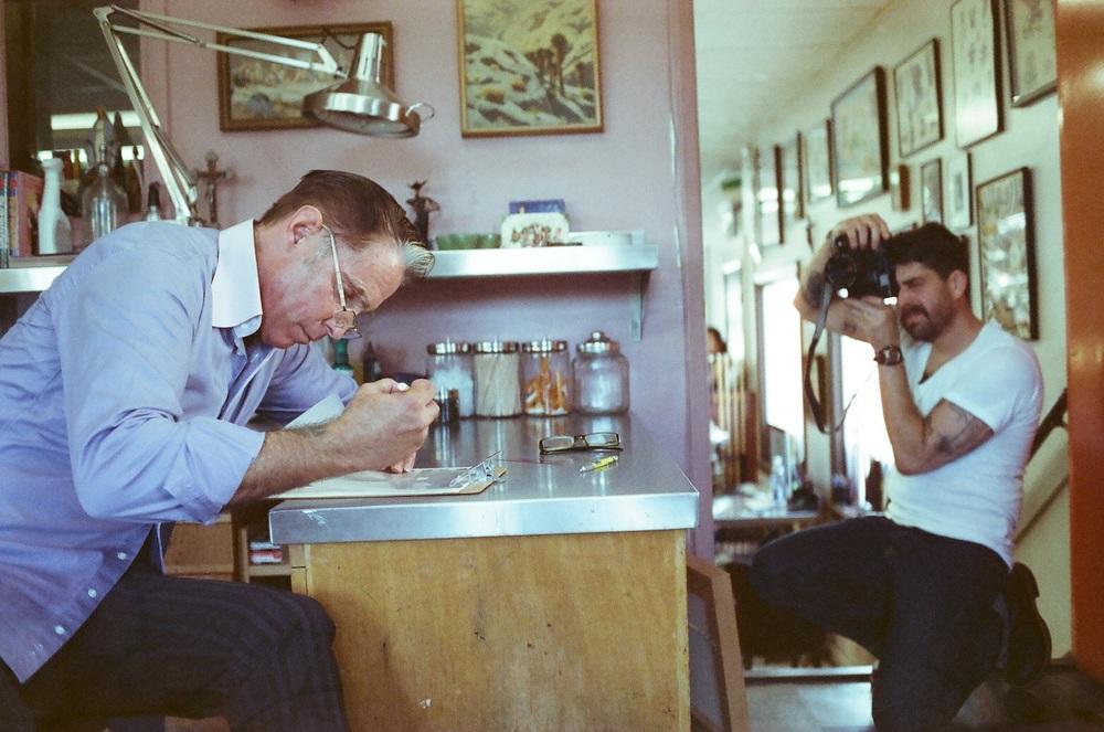 adam goldberg  and  mark mahoney