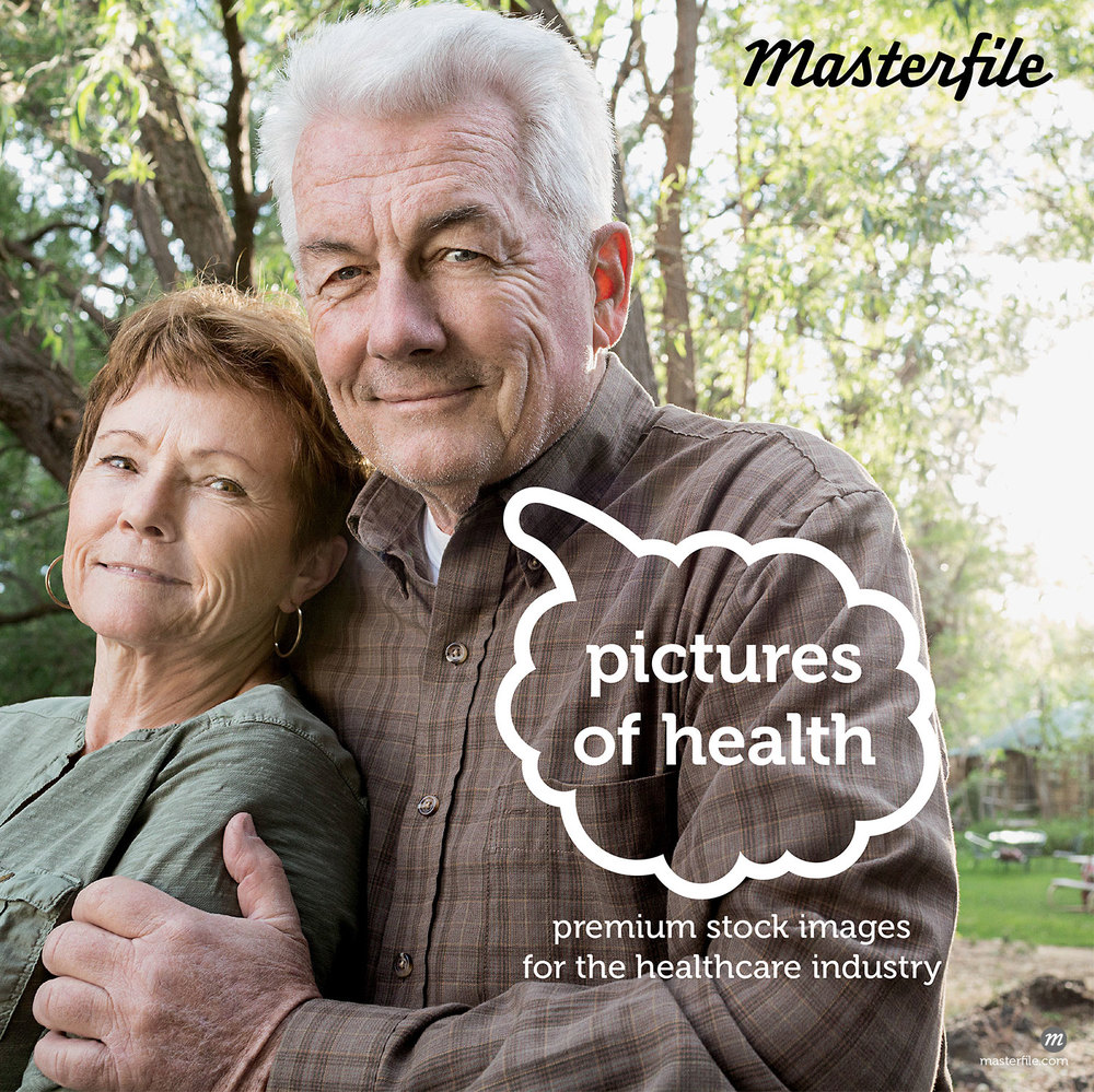 Senior caucasian couple relaxing outdoors  ©  Blend Images / Masterfile
