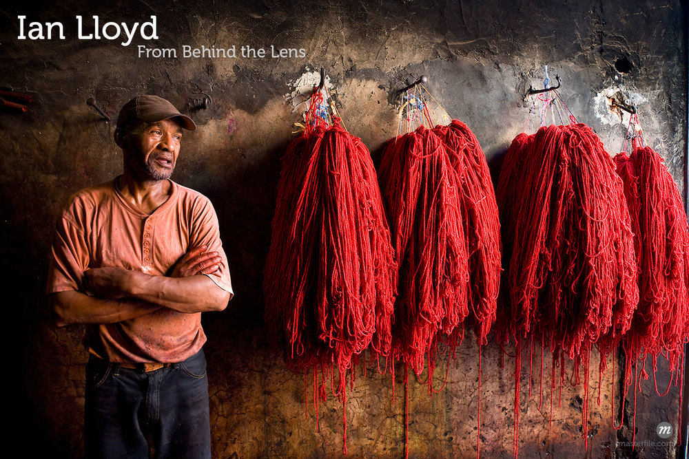Dyers Souk, Medina of Marrakech,Morocco  © R. Ian Lloyd / Masterfile
