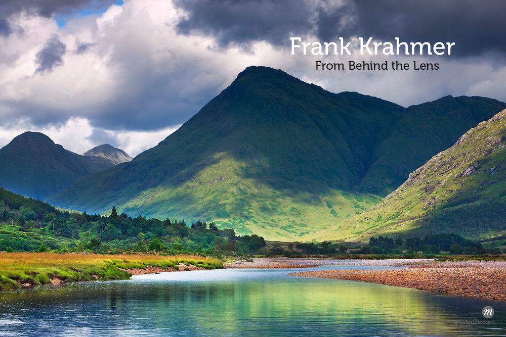 View of Loch Etive, Glen Etive, Argyll & Bute, Scotland  © Frank Krahmer / Masterfile