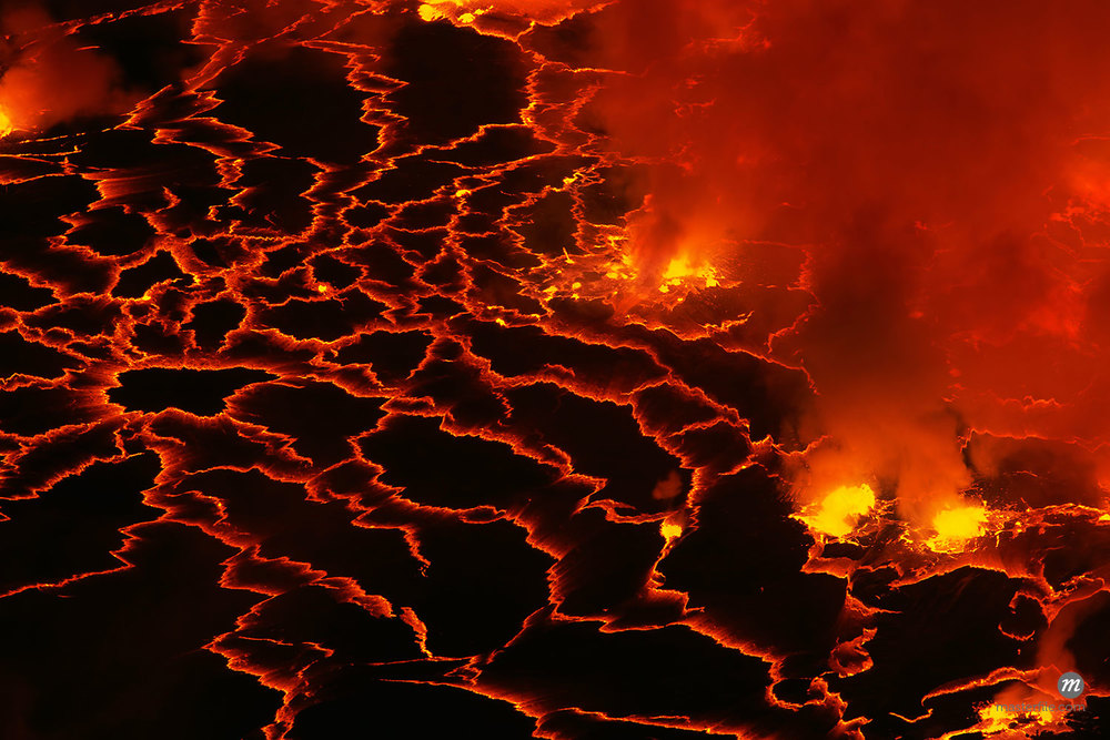 Lava Lake, Mount Nyiragongo, Virunga National Park, Democratic Republic of the Congo, Africa  © Frank Krahmer / Masterfile