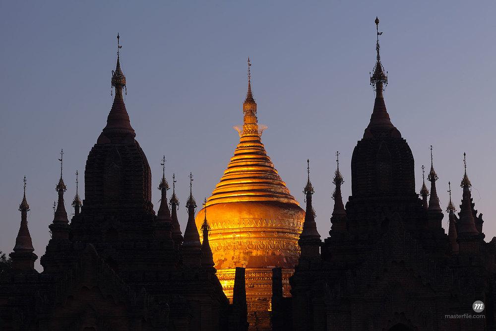 Dhammayazika Pagoda, Bagan, Mandalay Division, Myanmar© Albert Normandin