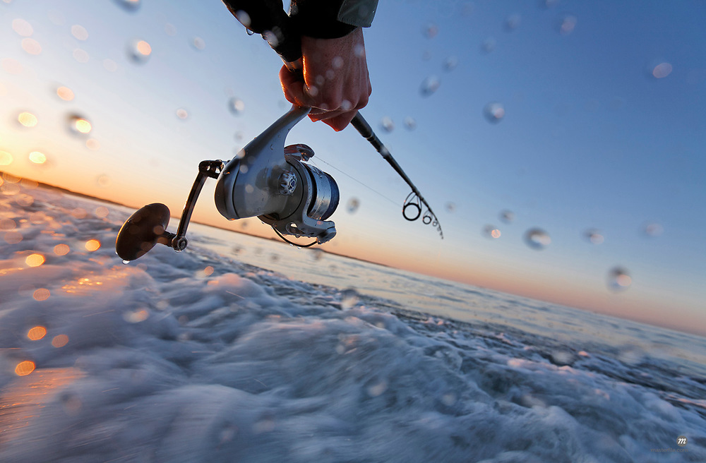 Fishing along Coast of Rhode Island, USA  © Michael Eudenbach / Masterfile
