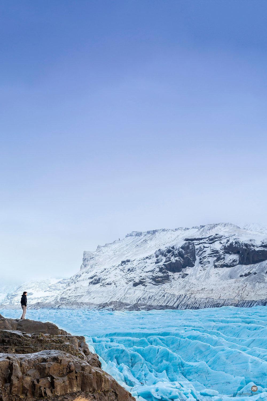 Vatnajokull glacier near Skalafell, Iceland, Polar Regions  © robertharding / Masterfile