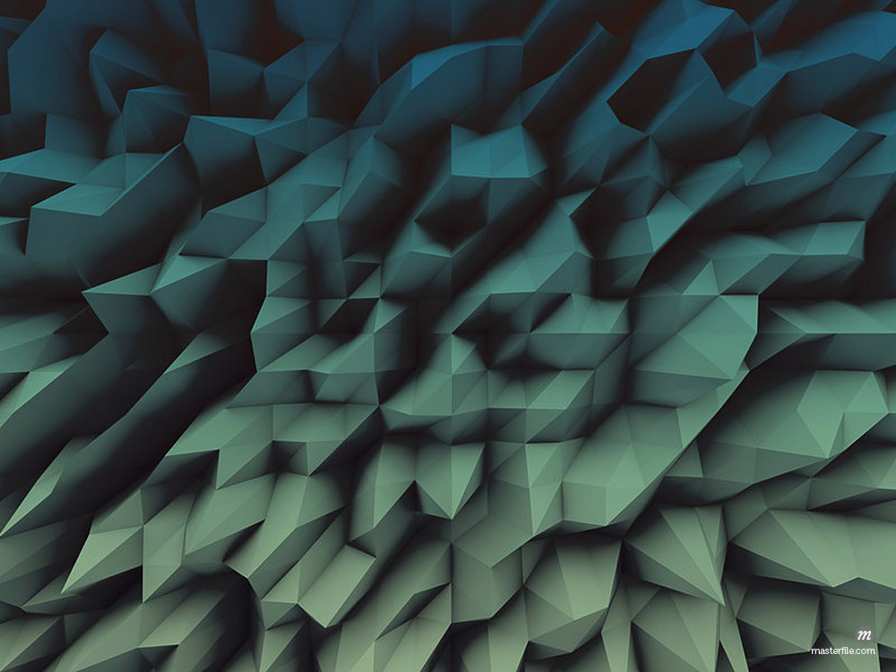 Abstract Triangle Geometrical Background illustration © Masterfile