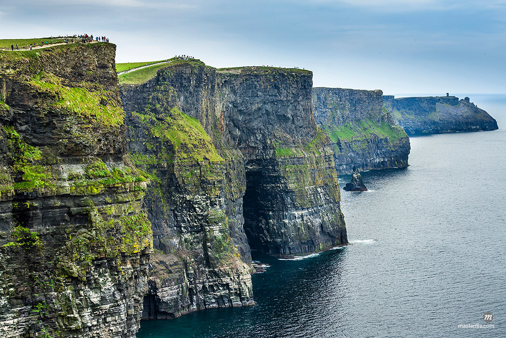 Coastal view, Cliffs of Moher, County Clare, Ireland © Masterfile