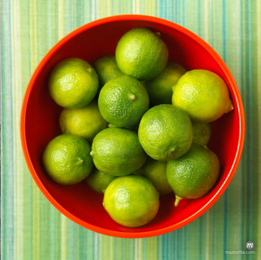 Bowl of Limes © Michael Mahovlich / Masterfile