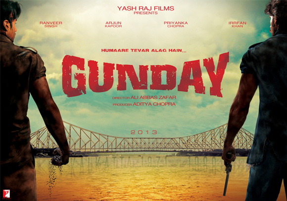 The first look poster of Gunday