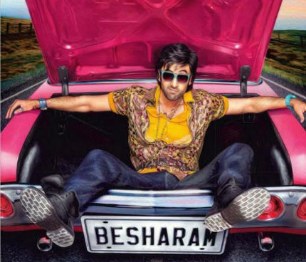 The first look poster of  Besharam