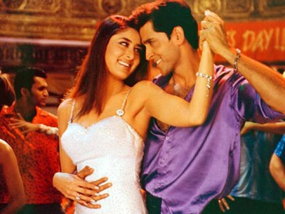 Hrithik Roshan and Kareena Kapoor in  Main Prem Ki Deewani Hoon