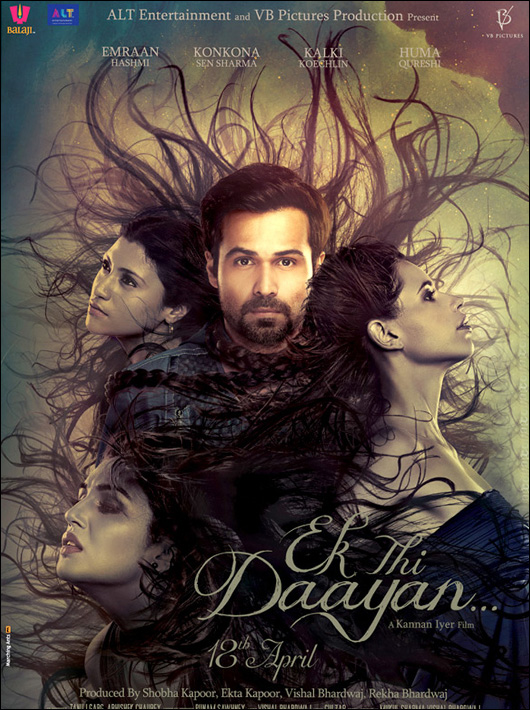 The first look poster of  Ek Thi Daayan
