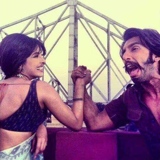 Priyanka Chopra & Ranveer Singh in <i>Gunday</i>