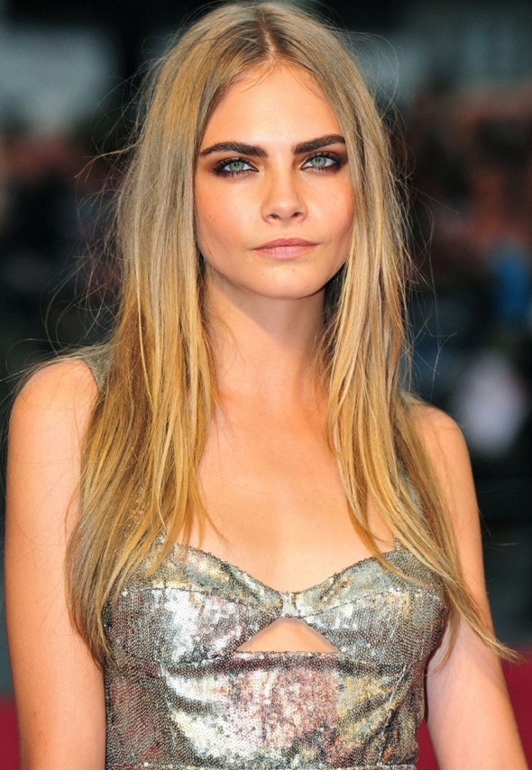 Cara Delevingne  -   What's in a name?  That which we call a model;  by any other name would still look as good... right?