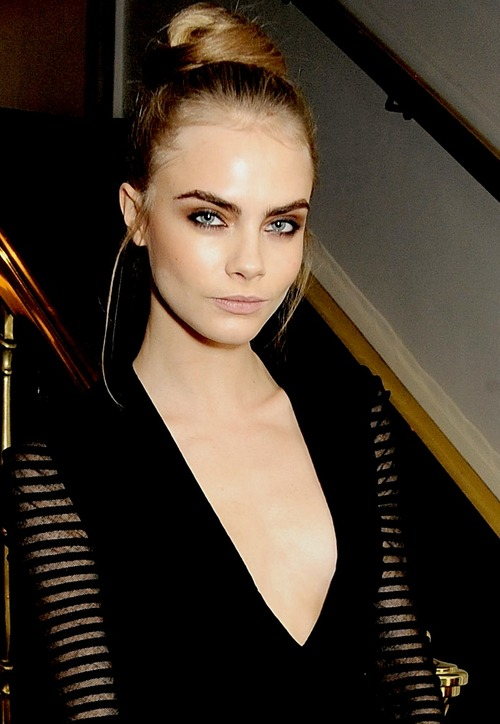 What will be Cara's next move?  Trademarking her eyebrows might be the next step to world domination.  Watch this space!
