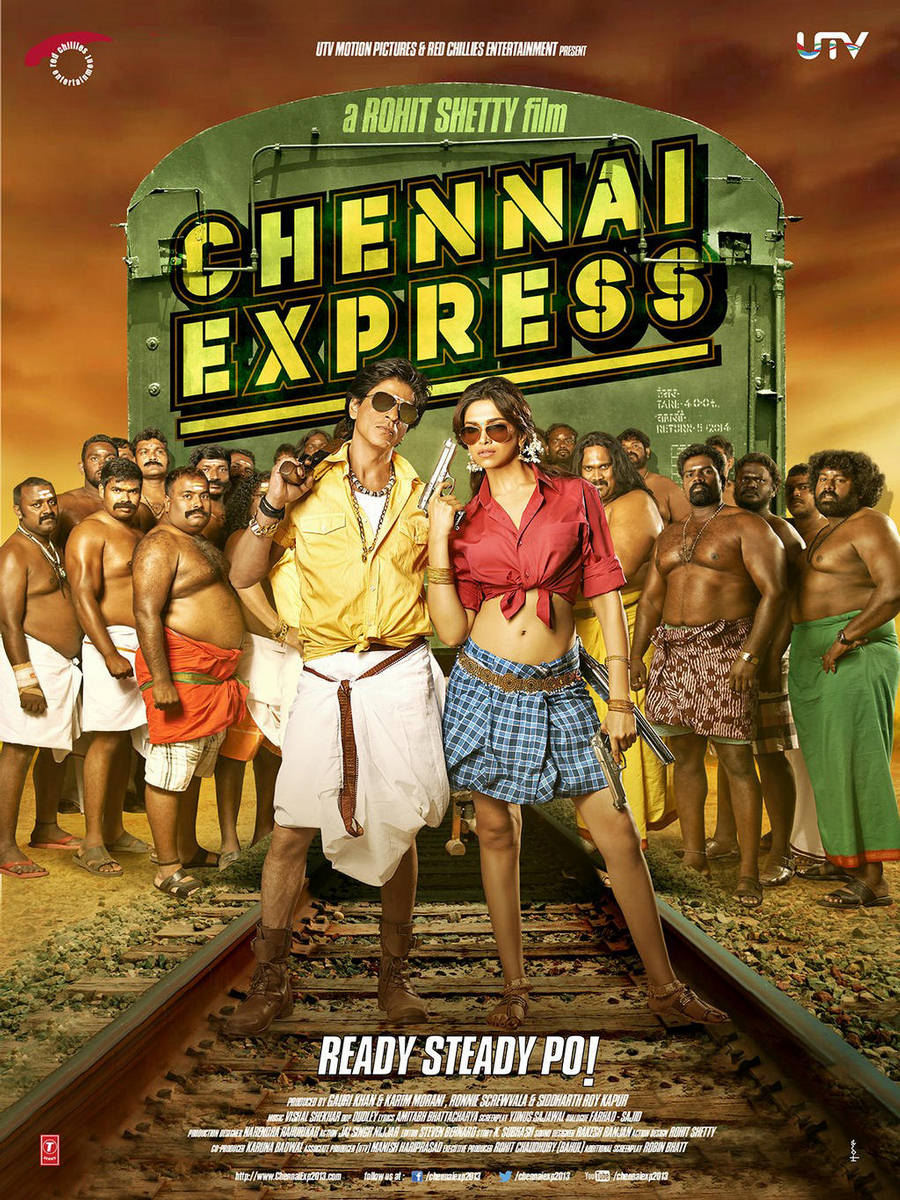 Deepika-SRK in Chennai Express