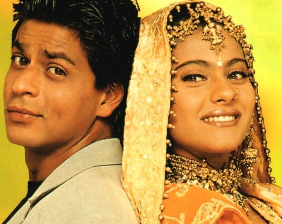Shah Rukh Khan and Kajol in  Kuch Kuch Hota Hai  (1998)