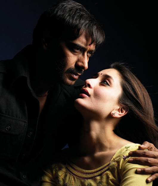Kareena-Ajay previously shared an intimate scene in Omkara