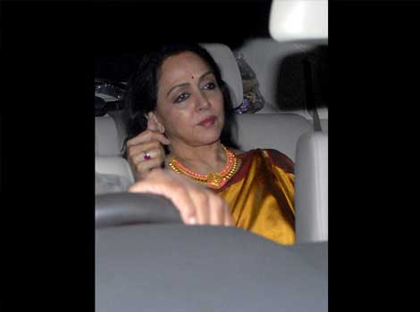 Hema Malini at Anil Ambani's bash