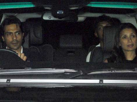 Arjun Rampal at Anil Ambani's bash