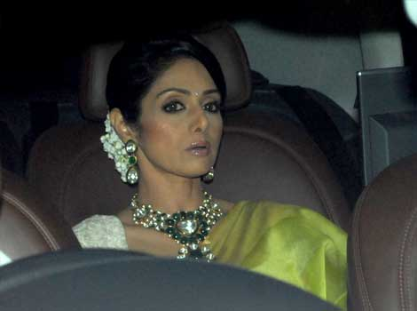 Sridevi at Anil Ambani's bash