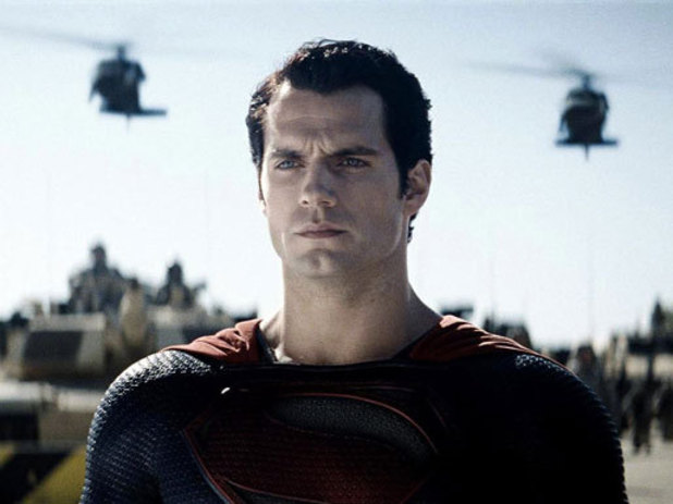 Henry Cavill in <i>Man Of Steel</i>