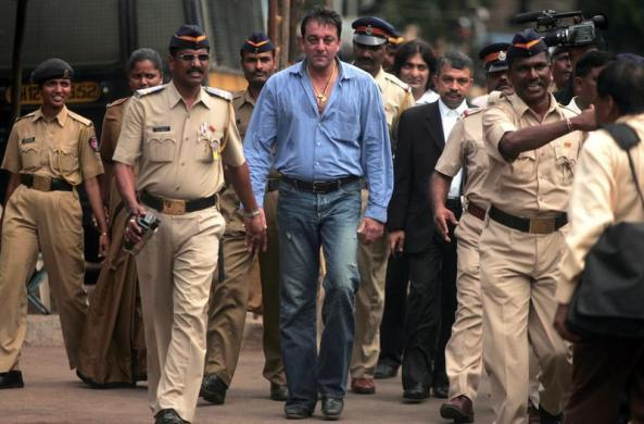 Sanjay Dutt has been sentenced for a further three years (Image courtesy: Reuters)