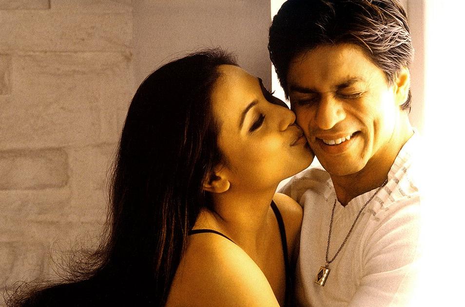 Rani-SRK in <i>Chalte Chalte</i> (2003)