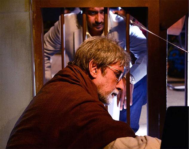 Amitabh Bachchan and Ajay Devgn in  Satyagraha