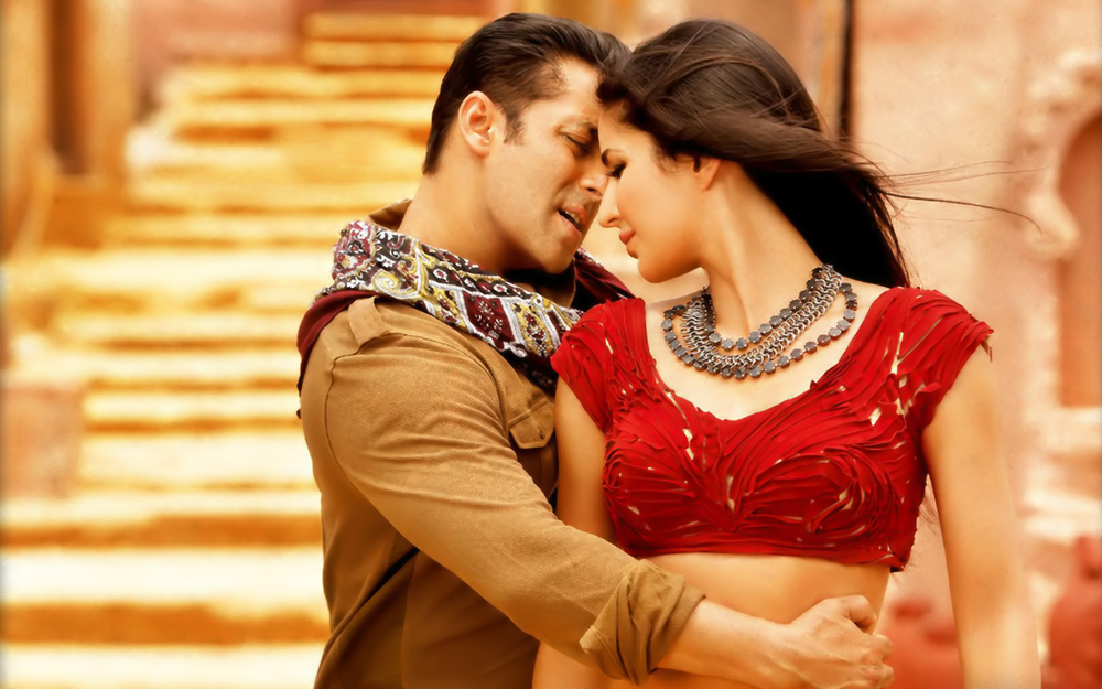 Salman-Katrina in  Ek Tha Tiger