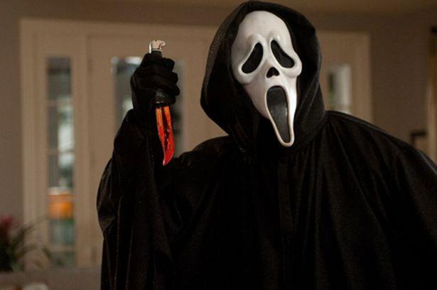 A still from Scream 4