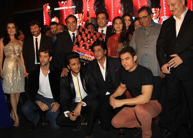 The star studded music launch of  Yamla Pagla Deewana 2