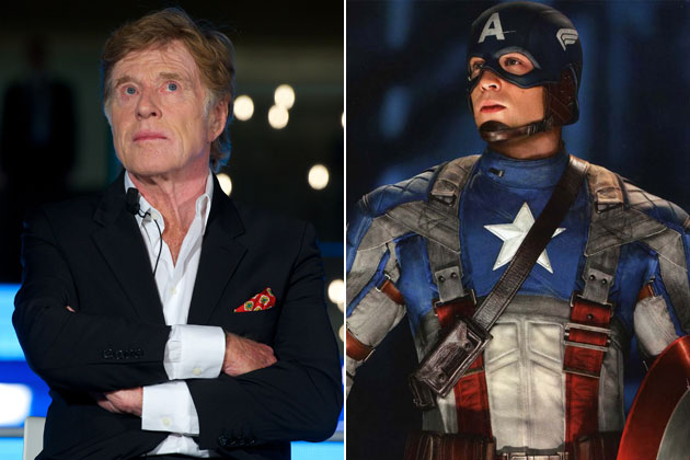 Robert Redford and Chris Evans will be seen in  Captain America The Winter Soldier