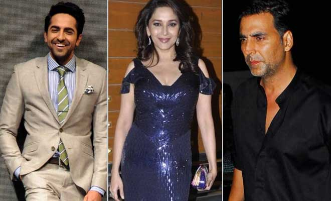 Akshay-Madhuri-Ayushmann wished their mums on Mothers Day