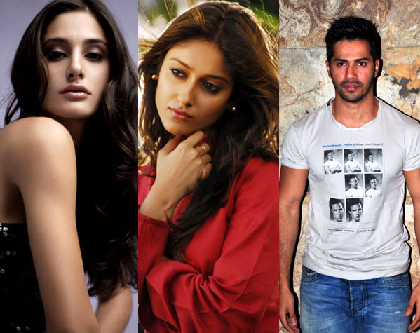 The trio will be seen in David Dhawan's Main Tera Hero
